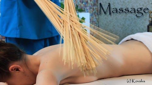 Samurai Massage Bamboo Broom