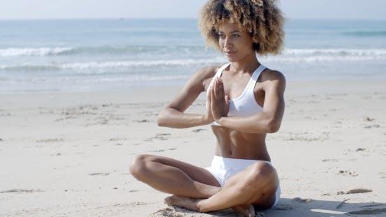 Thumbnail for Serene Relaxed Female Yoga Instructor