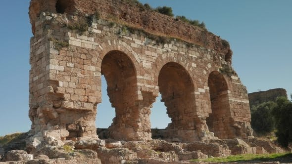 Thumbnail for Three Ancient Archs, Tralleis Ruins, Aydin, Turkey