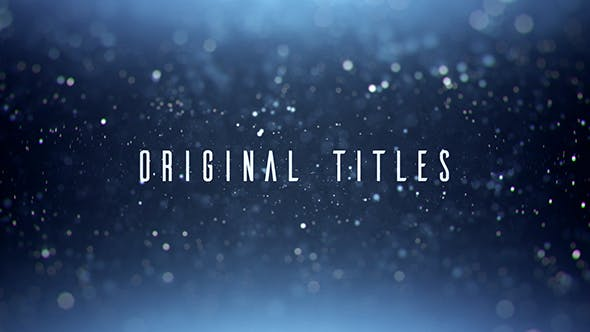 Thumbnail for Original Titles