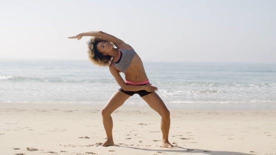 Thumbnail for Yoga Meditation On The Beach.