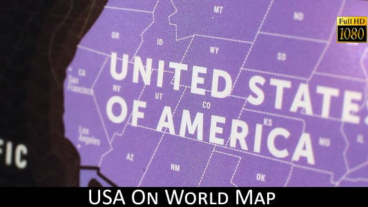 Cover Image for USA On World Map 21