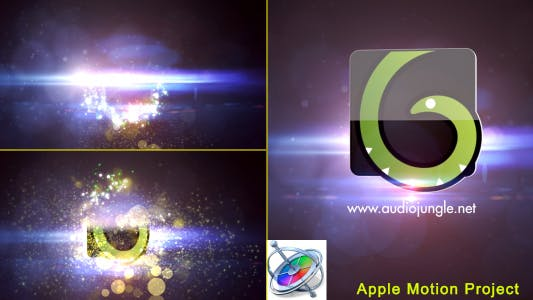 Thumbnail for Particles Quick Logo - Apple Motion