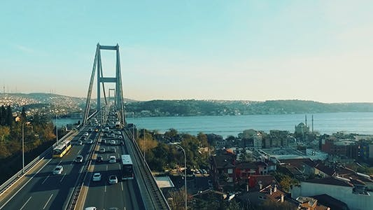 Thumbnail for Bosphorus Bridge Traffic 2