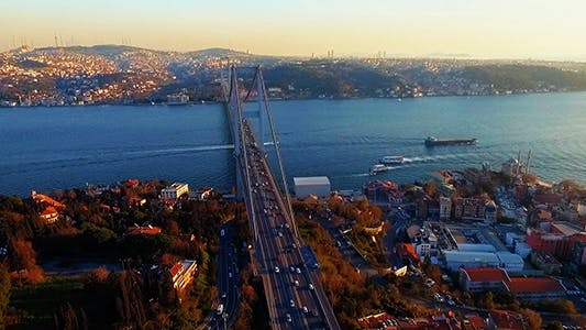 Thumbnail for Bosphorus Bridge Traffic 6
