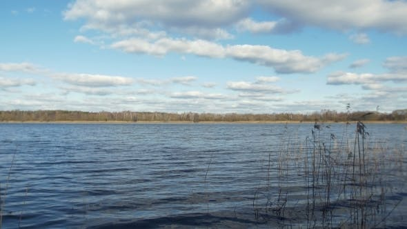 Thumbnail for Lake In The Early Spring, Hang Beautiful Clouds