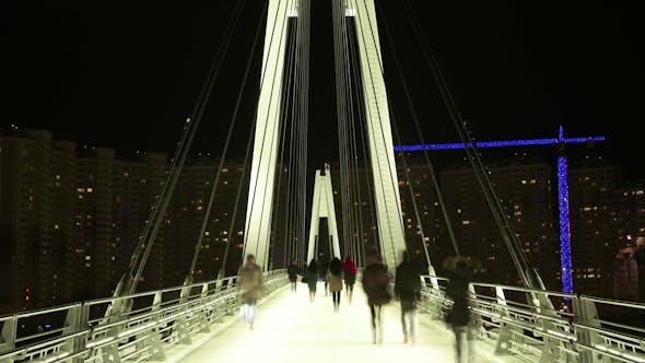 Thumbnail for Pedestrian Bridge over the River