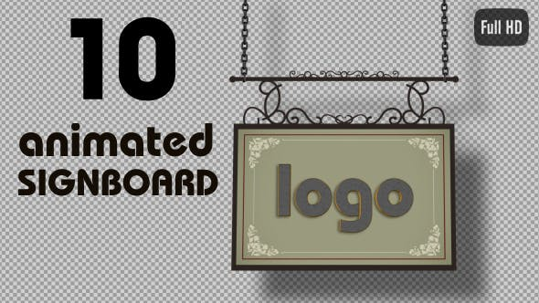 Thumbnail for Signboards Pack