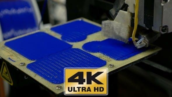 Thumbnail for Three Dimensional Plastic 3d Printer In Laboratory