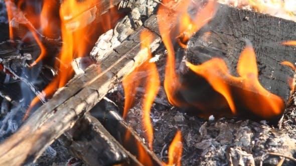 Thumbnail for Burning Wooden Beams