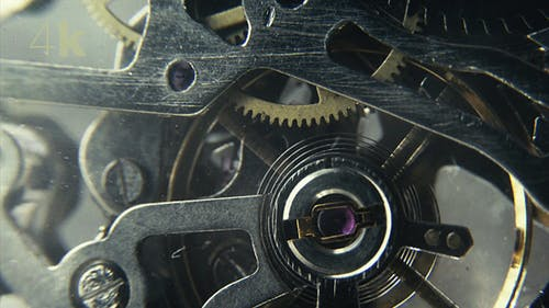 Spinning Wheels in a Mechanical Watch