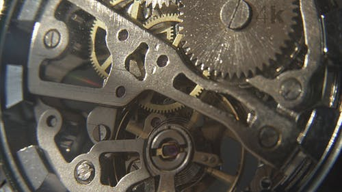 Spinning Mechanical Gear