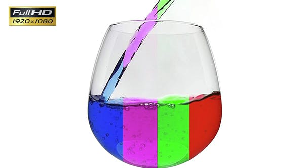 Thumbnail for Glass Of colorful Water