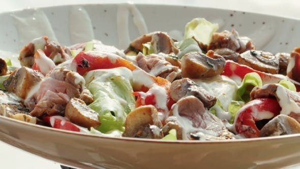 Thumbnail for Preparation Of Vegetable Salad. .