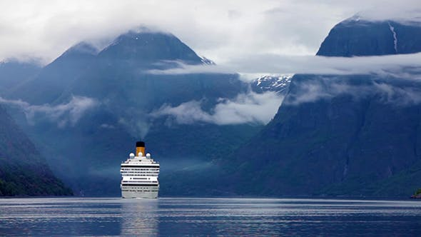 Thumbnail for Cruise Liners On Hardanger Fjorden