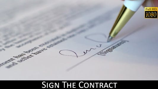 Thumbnail for Sign The Contract 3
