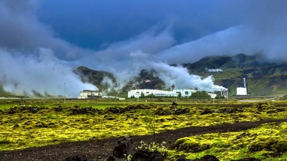 Cover Image for Geothermal Power Plants That Generate Electricity From Underground Heat Sources
