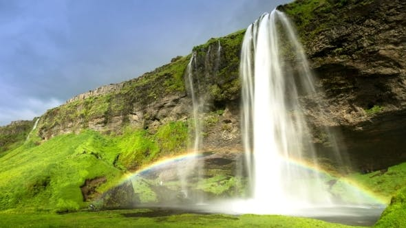 Thumbnail for Seljalandsfoss - One of The Most Famous Waterfalls in Iceland