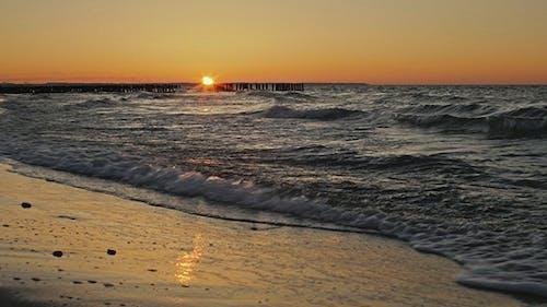 Agitated Sea Shore