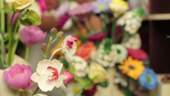Thumbnail for Beautiful Bouquets Of Colorful Spring Flowers