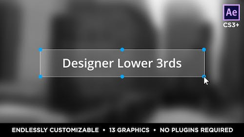 Designer Titles and Lower Thirds
