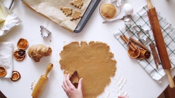 Thumbnail for Woman Hands. Traditional Homemade Christmas Dessert