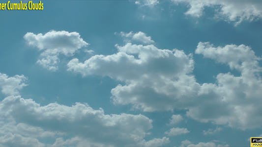 Thumbnail for Summer Cumulus Clouds