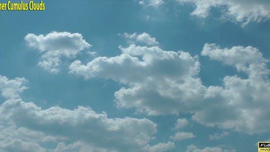 Summer Cumulus Clouds