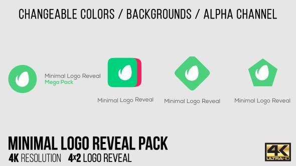 Thumbnail for Minimal Logo Reveal Pack