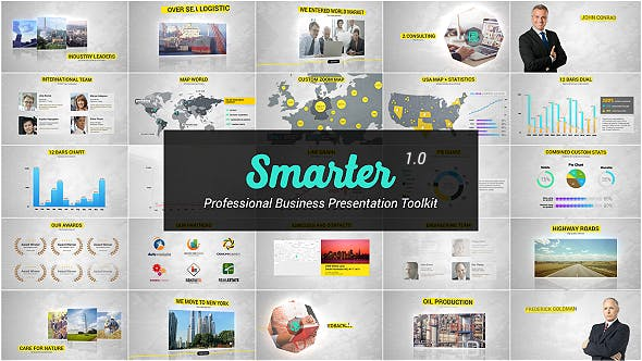 Cover Image for Presentation with Infographics