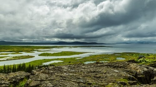 Thingvellir - Valley In The Southwestern Part Of Iceland