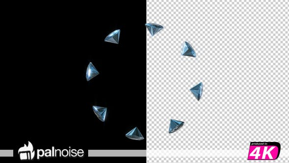 Thumbnail for Diamonds Crystal Zoom In