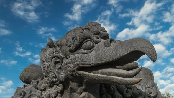 Cover Image for The Head of The Bird Garuda in Bali, Indonesia