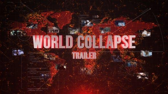Tráiler de colapso Mundo