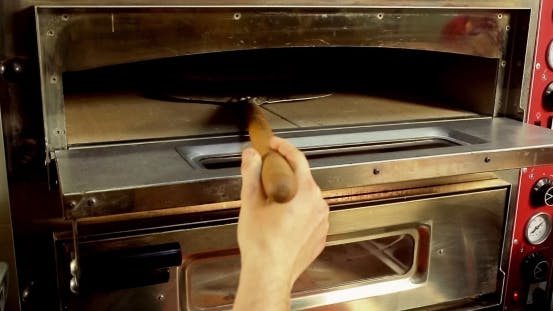 Thumbnail for Pizza In The Hot Oven