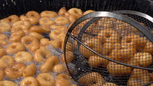 Thumbnail for Turkish Traditional Donut Dessert Lokma 1