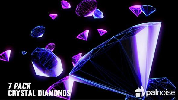 Thumbnail for Vj Loops Crystals Diamonds  (7-Pack)
