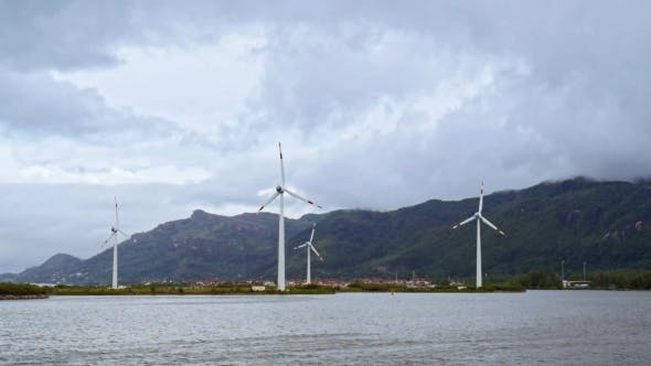 Thumbnail for Wind Power Plants In Ocean On Seychelles