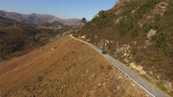 Thumbnail for Auto Reisen auf dem Berg