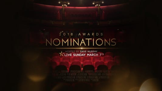 Thumbnail for Awards Nominations Promo