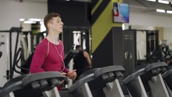 Runner at the Treadmill