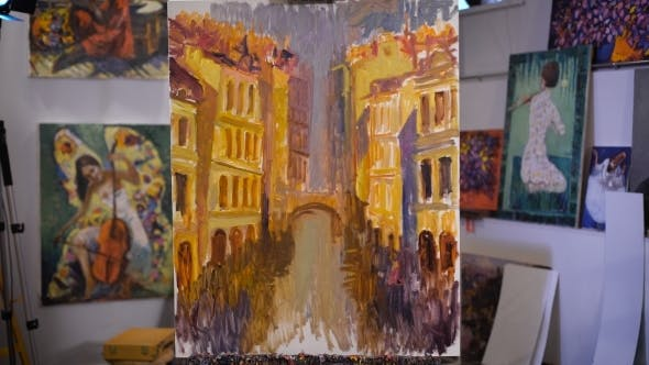 Thumbnail for Pictures In Frames In The Workshop