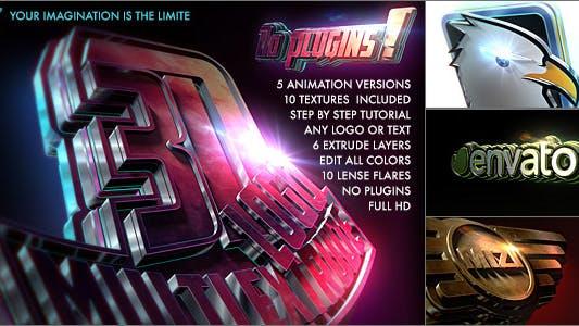 Thumbnail for Logo 3D - Multi Extrude