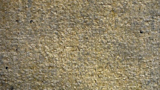 Thumbnail for Water Flows on Brick Stone Wall Background Texture 2