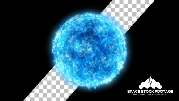 Thumbnail for Particle Star - Blue
