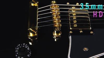 Black Electrical Guitar
