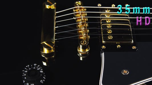 Thumbnail for Black Electrical Guitar