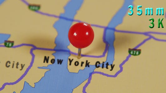 Thumbnail for Map Of New York City