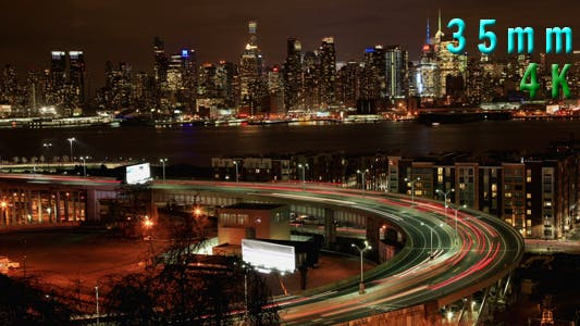 Thumbnail for Traffic On The Helix At The Entrance In Lincoln Tunnel