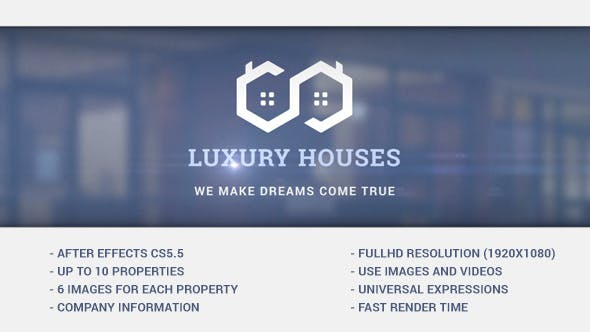 Thumbnail for Luxury Houses - Real Estate Presentation